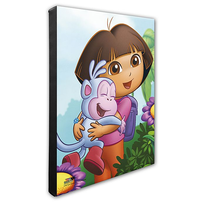 Alternate image 1 for Photo File Dora the Explorer Photo Canvas 1 Wall Art
