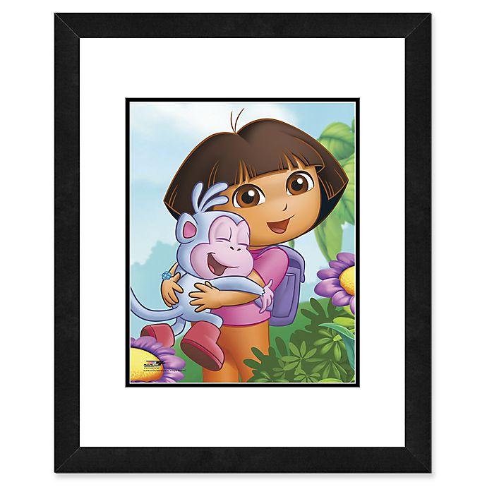 Alternate image 1 for Photo File Dora the Explorer I 22-Inch x 26-Inch Framed Photo Wall Art