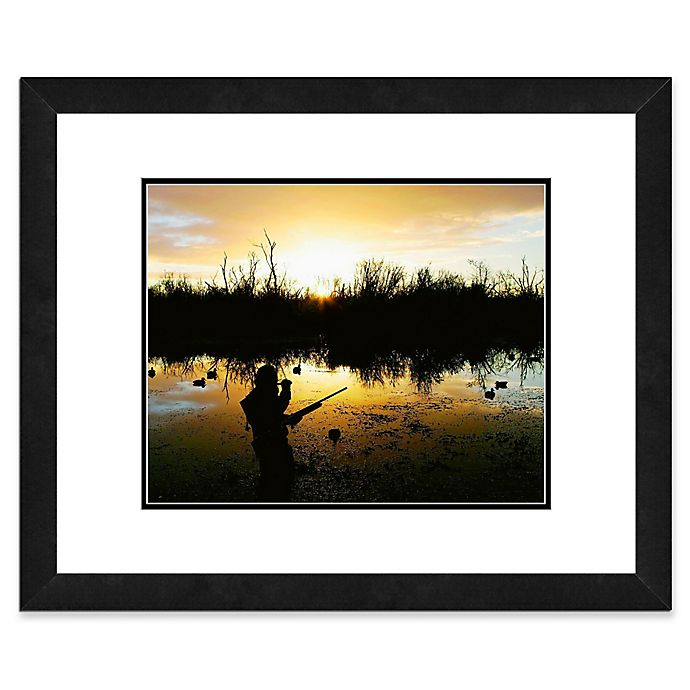 Alternate image 1 for Duck Hunter 22-Inch x 26-Inch Framed Wall Art