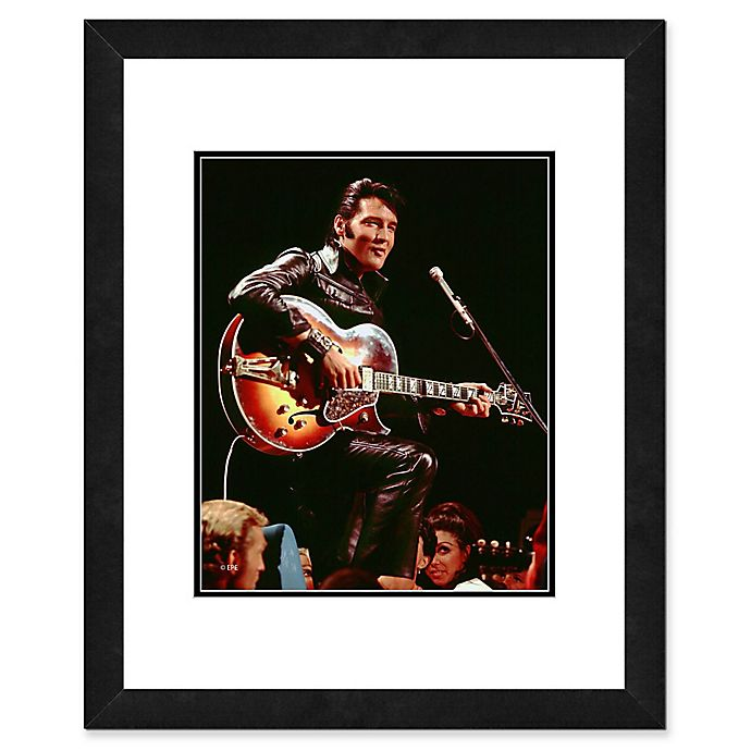 Alternate image 1 for Elvis Presley Photo Two 22-Inch x 26-Inch Canvas Wall Art