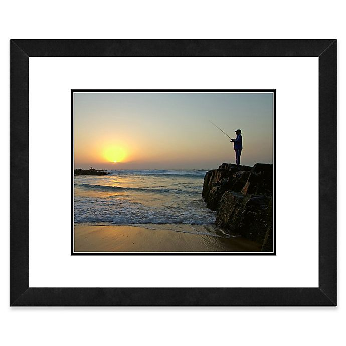 Alternate image 1 for Fisherman 18-Inch x 22-Inch Framed Wall Art