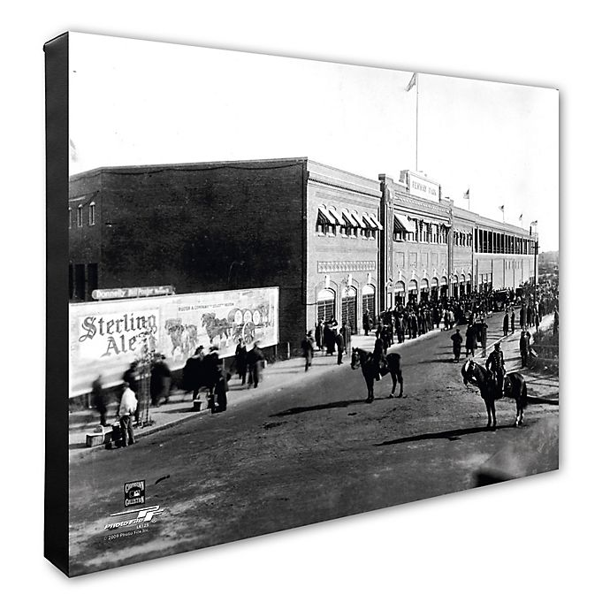Alternate image 1 for Fenway Park 16-Inch x 20-Inch Photo Canvas Wall Art