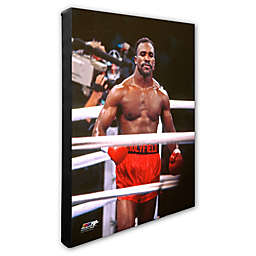 Evander Holyfield in Ring 16-Inch x 20-Inch Photo Canvas Wall Art