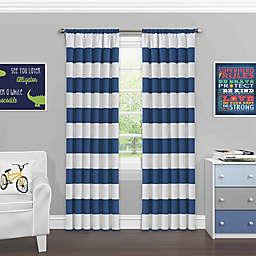 SolarShield® Bartlett Rod Pocket Room Darkening Window Curtain Panel