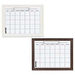 Kate and Laurel Beatrice Framed Dry Erase Calendar