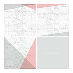 WallPops!® 4-Piece Dry-Erase Organization Kit in Everest White