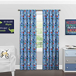 Solar Shield® Sports Rod Pocket Room Darkening Window Curtain Panel