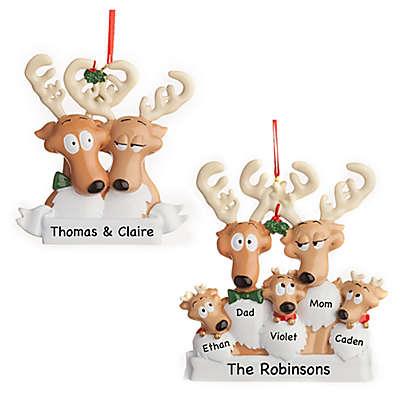 Reindeer Family Christmas Ornament