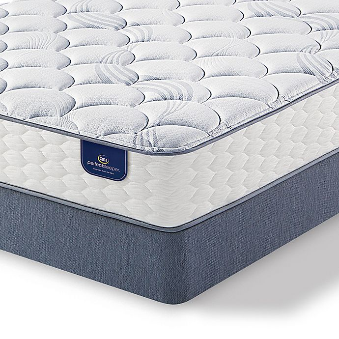 Alternate image 1 for Serta® Perfect Sleeper® Hayfield Plush Low Profile Twin Mattress Set