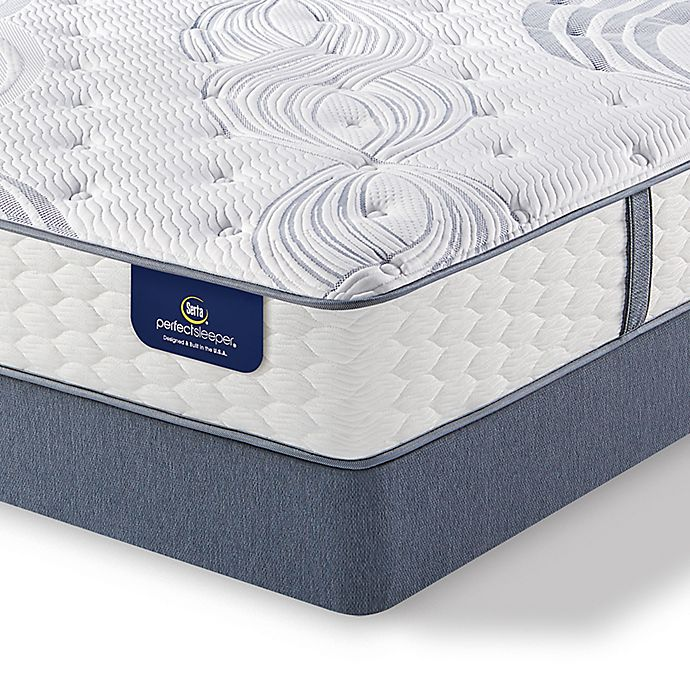 Alternate image 1 for Serta® Perfect Sleeper® Lealake Luxury Firm California King Mattress Set
