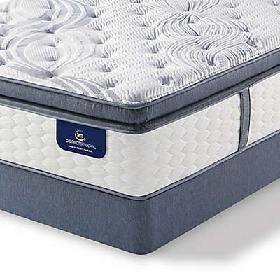 Serta® Perfect Sleeper® Southboro Firm Super Pillow Top Low Profile Mattress Set