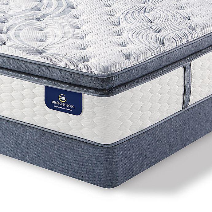 Alternate image 1 for Serta® Perfect Sleeper® Southboro Plush Super Pillow Top Low Profile King Mattress Set