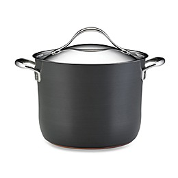 Anolon® Nouvelle Copper 8 qt. Covered Stock Pot
