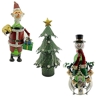 Wine Bodies® Christmas Bottle Holder Collection