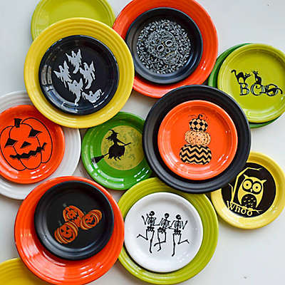 Fiesta® Halloween Luncheon and Appetizer Plate Collection
