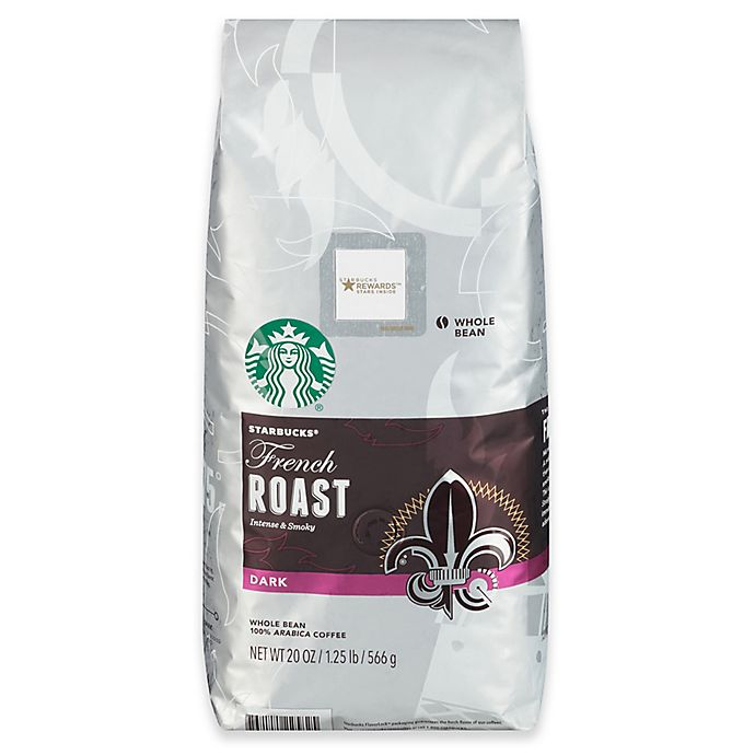 Alternate image 1 for Starbucks® 20 oz. French Roast Whole Bean Coffee