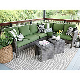 Leisure Made Canton 6-Piece Sectional Patio Furniture Set