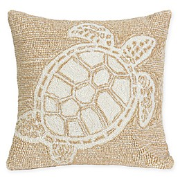 Liora Manne Turtle Square Indoor/Outdoor Throw Pillow