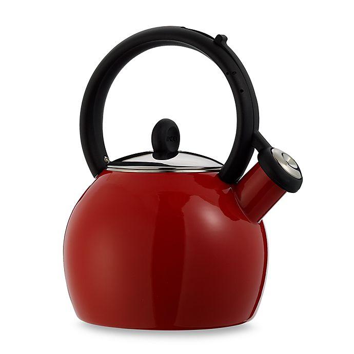 Alternate image 1 for Copco Vienna Red Porcelain Enamel Tea Kettle
