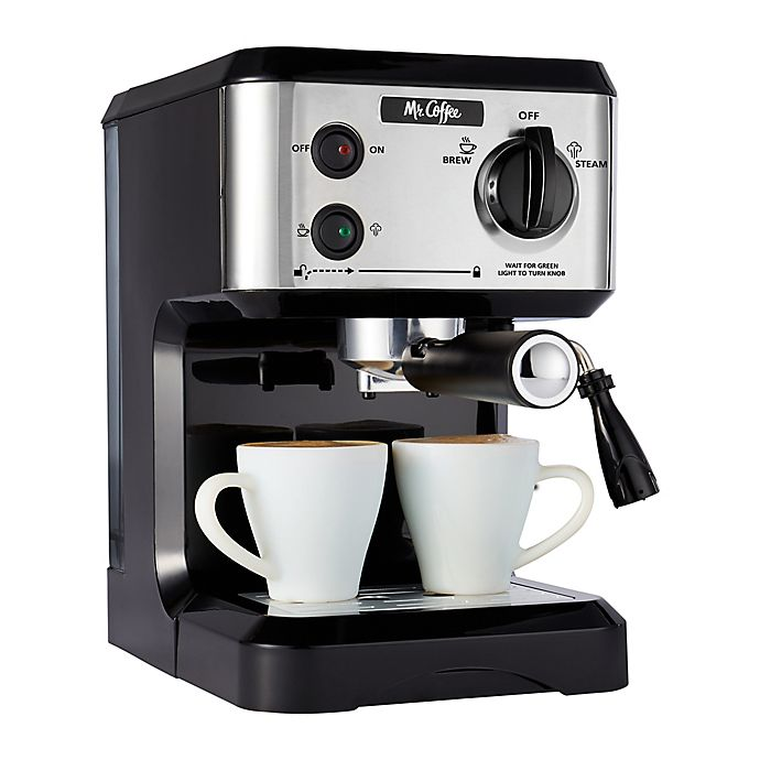 Alternate image 1 for Mr. Coffee® 19-Bar Pump Espresso Machine