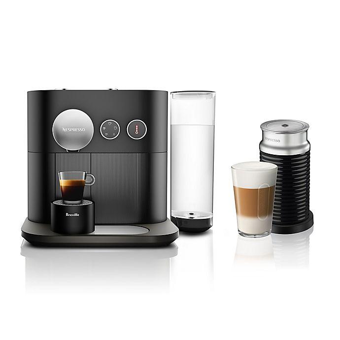 Alternate image 1 for Nespresso® By Breville® Expert & Milk Espresso Maker in Black