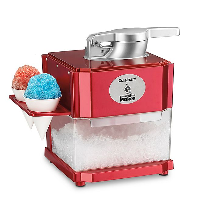 Alternate image 1 for Cuisinart® Snow Cone Maker in Red