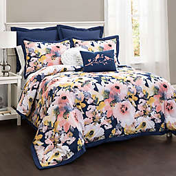 Lush Décor Watercolor Floral Comforter Set