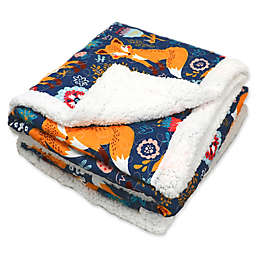 Lush Décor Pixie Fox Reversible Blanket