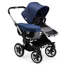 Bugaboo Donkey2 Mono Complete Stroller in Blue Mélange/Sky Blue
