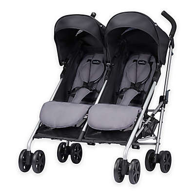 Evenflo® Minno Twin™ Double Stroller in Glenbarr Grey