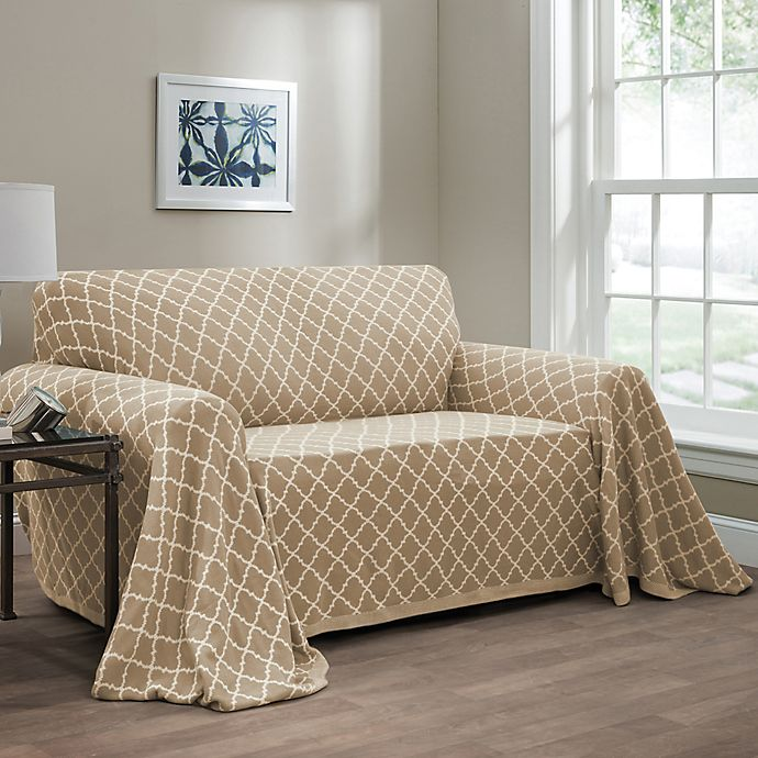 Fine Ogee Reversible Loveseat Throw Cover Caraccident5 Cool Chair Designs And Ideas Caraccident5Info