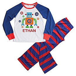 2-Piece Robot Pajama in Blue