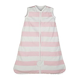Burt's Bees Baby® Rugby Stripe Beekeeper™ Organic Cotton Wearable Blanket in Blossom