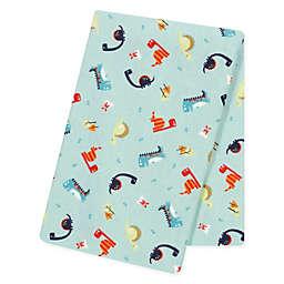 Trend Lab® Dinosaurs Jumbo Flannel Swaddle Blanket