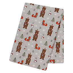 Trend Lab® Cup of Cocoa Flannel Swaddle Blanket