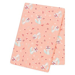 Trend Lab® Fox and Flowers Flannel Swaddle Blanket