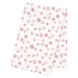 Trend Lab® Be Happy Jumbo Flannel Swaddle Blanket
