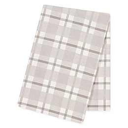 Trend Lab® Jumbo Plaid Flannel Swaddle Blanket in Grey