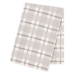 Trend Lab® Jumbo Plaid Flannel Swaddle Blanket in Grey