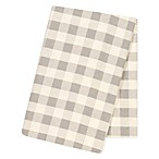 Trend Lab® Buffalo Check Flannel Swaddle Blanket in Grey