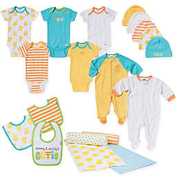 Gerber® Size 0-3M 19-Piece Duck Layette Set in Yellow