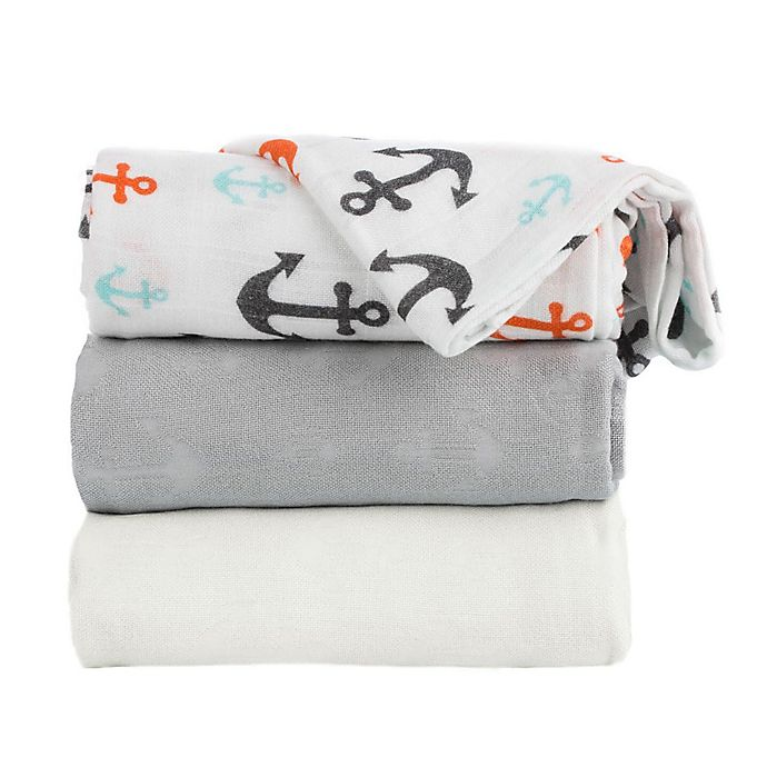 Alternate image 1 for Baby Tula Captain Baby Blankets (Set of 3)