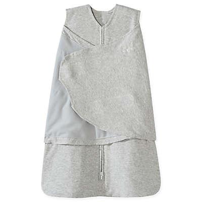 HALO® SleepSack® Newborn Multi-Way Adjustable Cotton Swaddle in Heather Grey