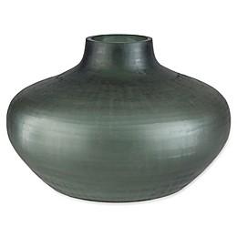 Surya Small Seaglass Decorative Vase in Green