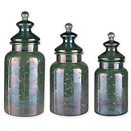 Surya Lilt Decorative Jar in Green