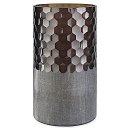 Surya Modern Vase in Brown/Silver