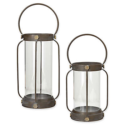 Madison Park Hawthorne Lantern Collection in Black