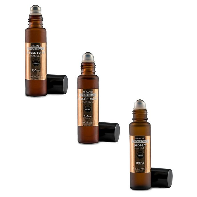 Alternate image 1 for Aromasource® Organic Topical Roll-on Essential Oil