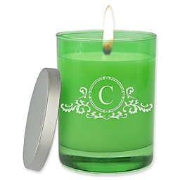Carved Solutions Gem Collection Unscented Elegant Soy Wax Glass Jar Candle
