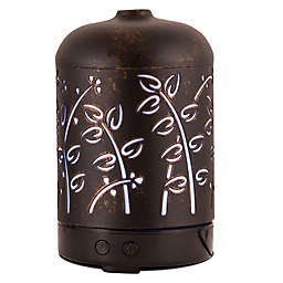ScentSationals Country Small Lighted Ultrasonic Essential Oil Diffuser in Latte